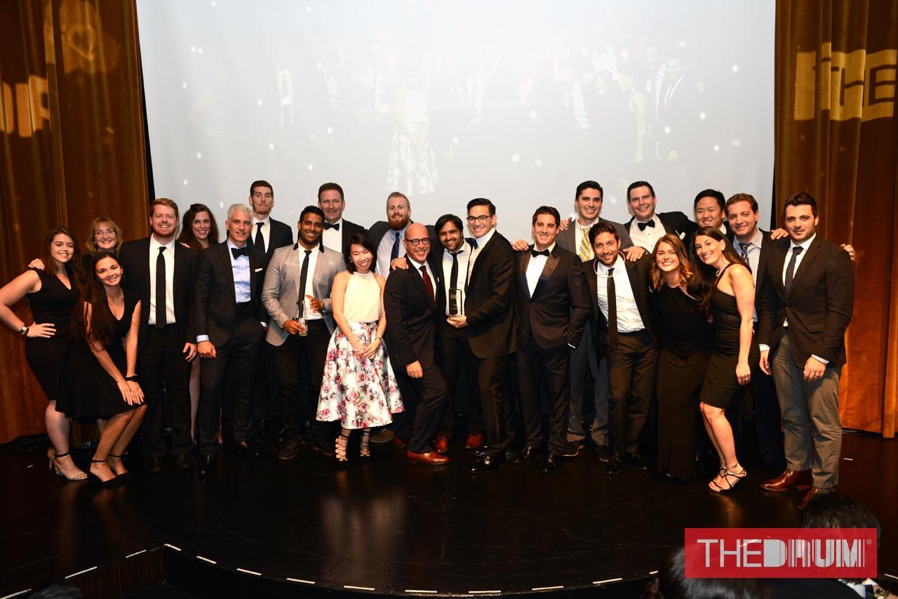 SYZYGY wins three The Drum Digital Training Awards - Team photo